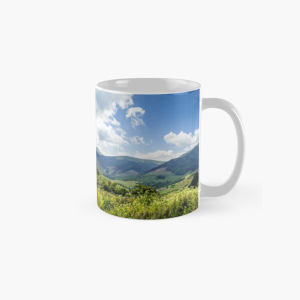 meadow with flowers in mountains Classic Mug