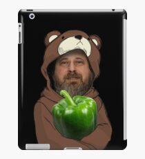 Richard Stallman GIMP Green Is My Pepper Lain  iPad Case/Skin