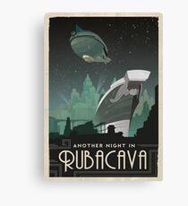 Grim Fandango Travel Posters - Rubacava Canvas Print