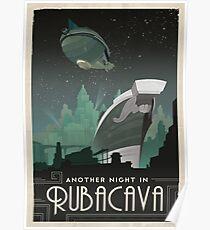 Grim Fandango Travel Posters - Rubacava Poster