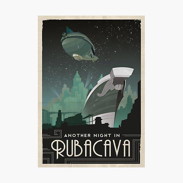 Grim Fandango Travel Posters - Rubacava Photographic Print