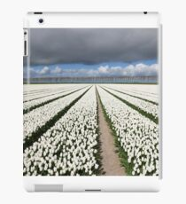 Tulips before the storm iPad Case/Skin