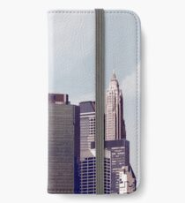 Helicopter, New York City 2 iPhone Wallet
