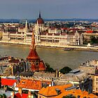 Hungarian Parliament by Tom Gomez