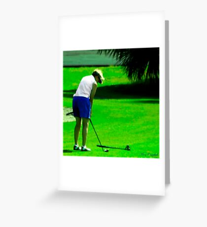 Concentration © Greeting Card