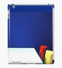 Table,Chairs, Wall iPad Case/Skin