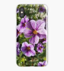 Purple Spring Flowers iPhone Case/Skin