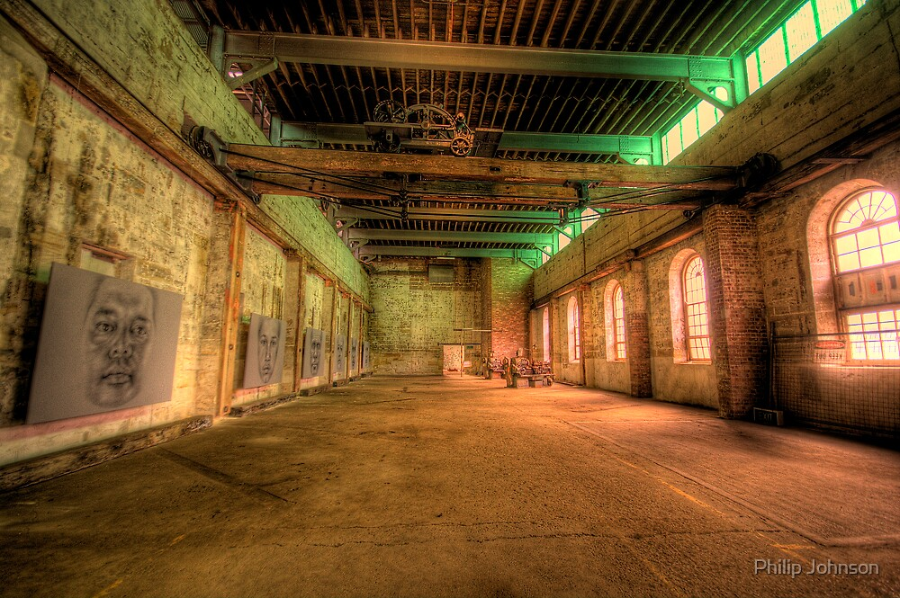 Let There Be Light - Cockatoo Island - THe HDR Experience by Philip Johnson