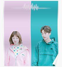 Weightlifting Fairy Kim Bok Joo_ Bok Joo and Joon Hyung Poster