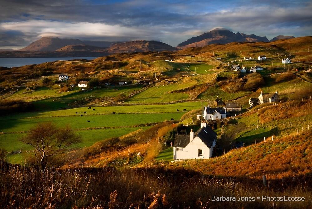 Tarskavaig in November. Isle of Skye. Scotland. by Barbara  Jones ~ PhotosEcosse