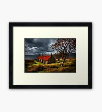 Ruin at Suisinish, Isle of Skye. North West Scotland. Framed Print