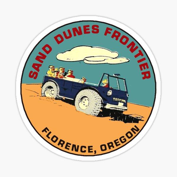 Oregon Dunes National Recreational Area Decal Sticker Explore Wanderlust Oregon