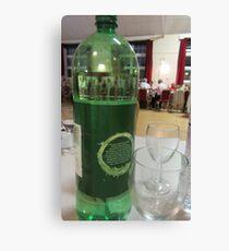 Water Bottle Canvas Print
