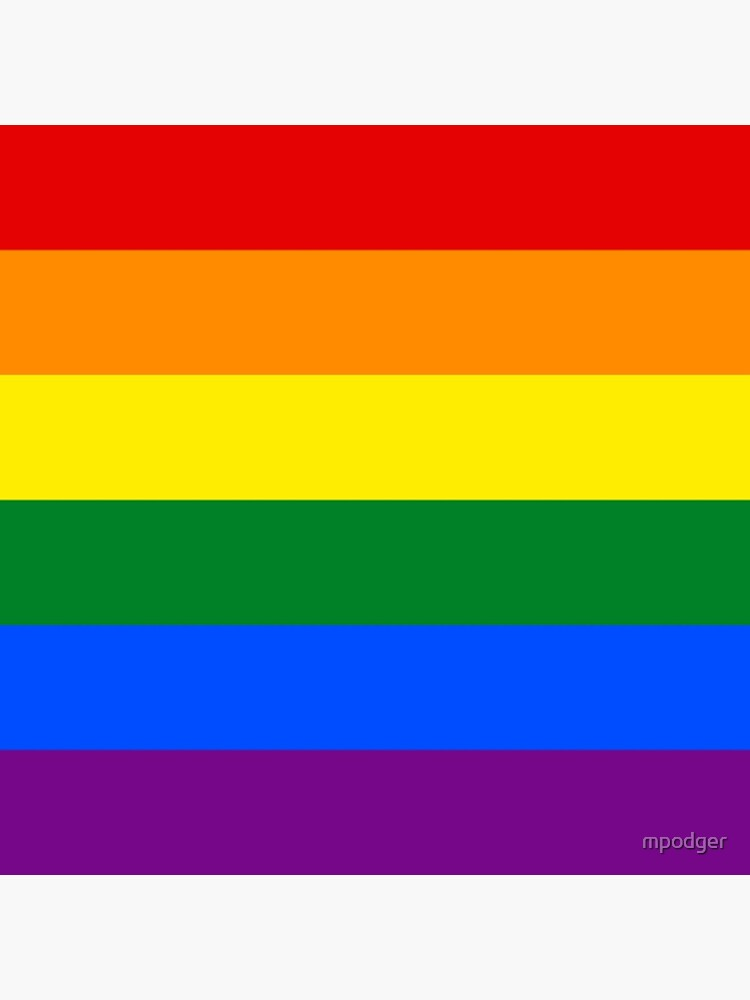 Rainbow Flag Gifts & Products by mpodger