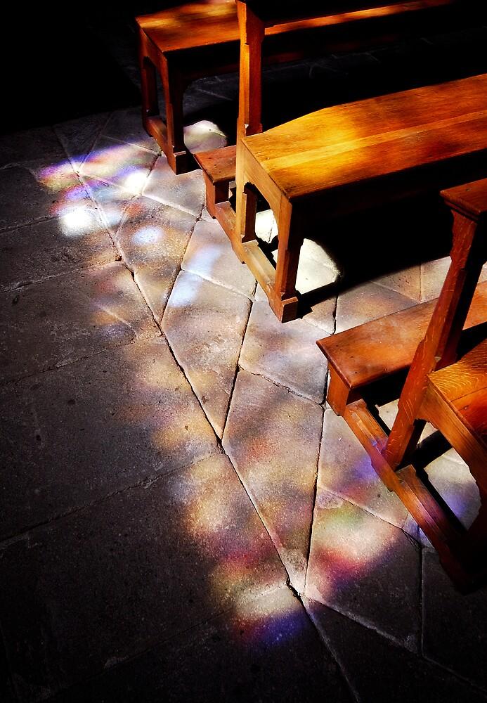 a spectacular light thu church windows by ragman