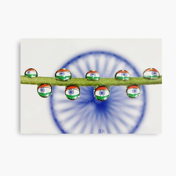 I love my India...... Metal Print