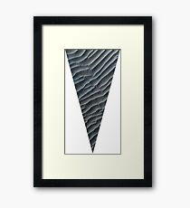 Timargyle pattern- a Herbertian triangle Framed Print