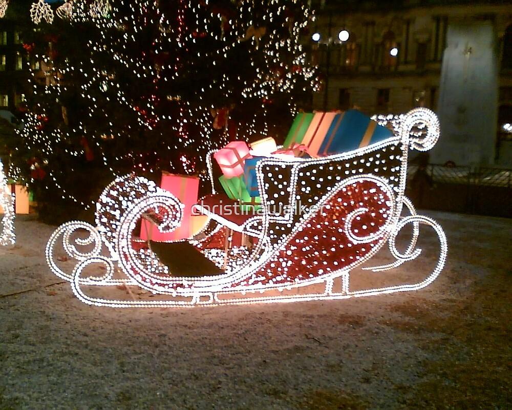 Santa's Sleigh by christinawalker