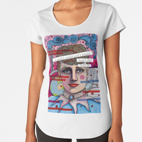 Nellie Bly Premium Scoop T-Shirt