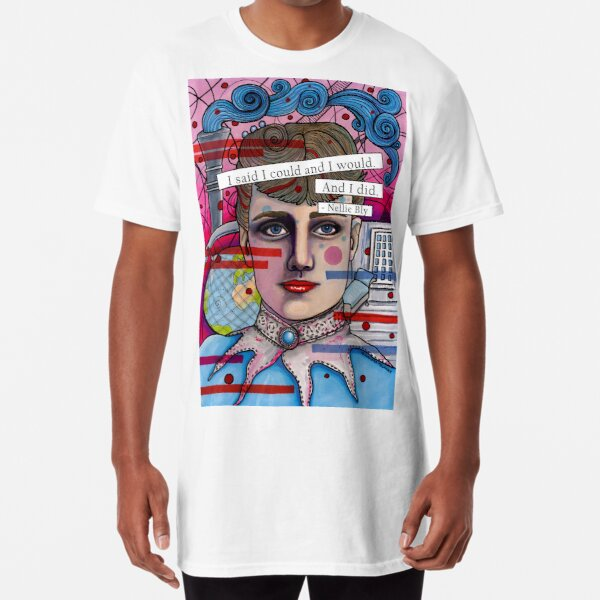 Nellie Bly Long T-Shirt