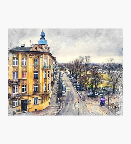 Cracow art 11 #cracow #krakow #city Photographic Print