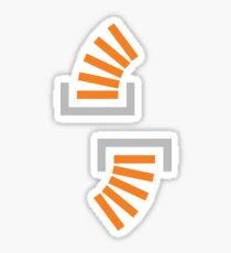 Stack Overflow Icon (x2) Sticker