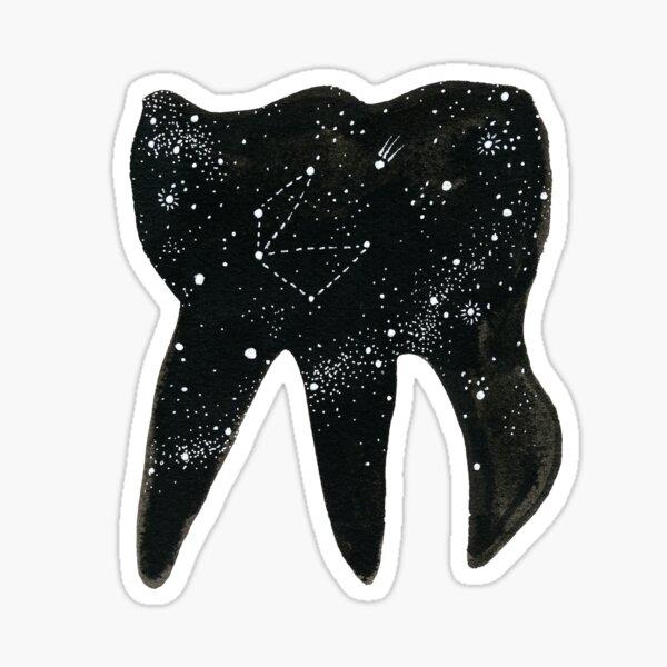 Cosmic Tooth Sticker
