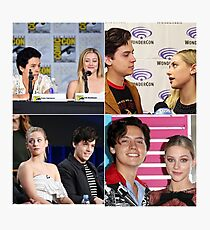 Cole Sprouse and Lili Reinhart Photographic Print