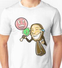 Funny Face Ping Pong Racket T-Shirt