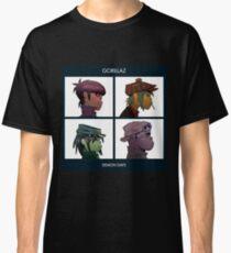 GORILLAZ DEMON DAYS ALBUM ARTWORK (Jamie Hewlett) Classic T-Shirt