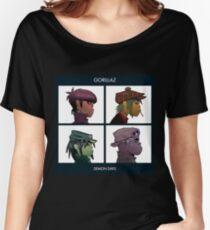GORILLAZ DEMON DAYS ALBUM ARTWORK (Jamie Hewlett) Women's Relaxed Fit T-Shirt