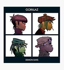 GORILLAZ DEMON DAYS ALBUM ARTWORK (Jamie Hewlett) Photographic Print