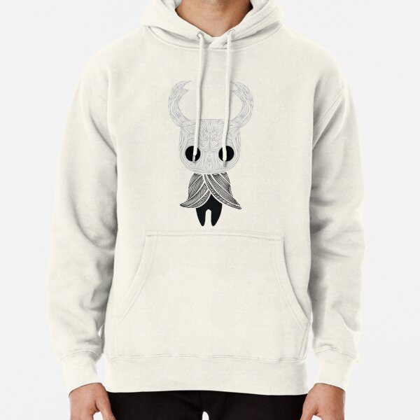 Hollow Knight Cut out Pullover Hoodie