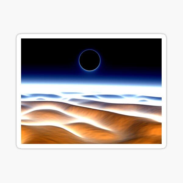 Desert Eclipse Sticker