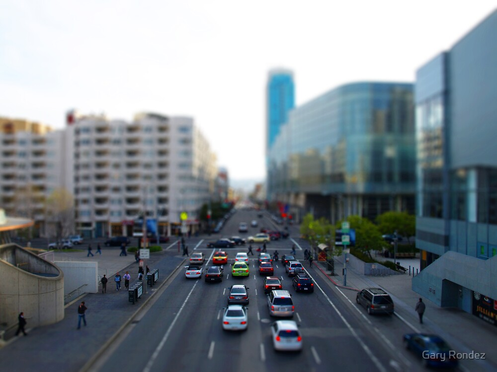 My First Tilt Shift by Gary Rondez
