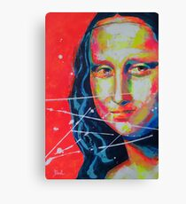 La Joconde Mona Lisa Artpainting Canvas Print