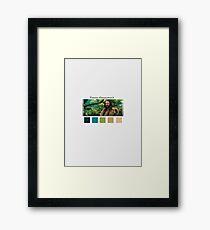 Oakenshield - Colours Framed Print
