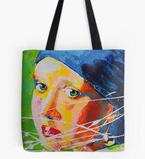La Jeune Fille à la Perle Vermeer  Tote Bag