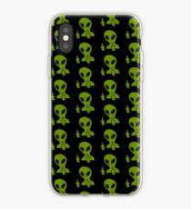 Middle Finger Alien iPhone Case