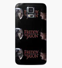 Freddy gegen Jason Hülle & Klebefolie für Samsung Galaxy