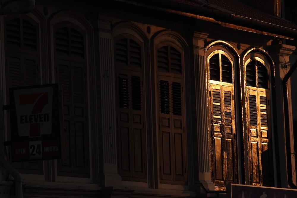 Windows at sunset by richardseah