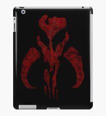Boba Fett Symbol Mandalorian Mythosaur Skull iPad Case/Skin