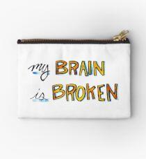 My Brain is Broken Studio Pouch