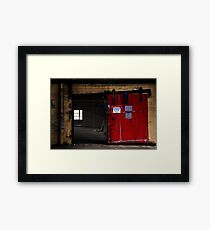 Authorized persons only  Framed Print