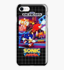 Sonic Mania Game Sega Genesis American iPhone Case/Skin