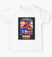 Sonic Mania Game Sega Genesis American Kids Clothes