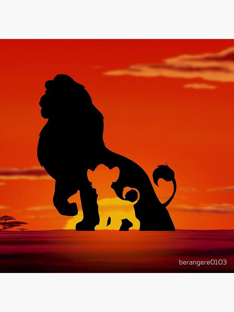 The Lion King Art Board Print By Berangere0103 Redbubble