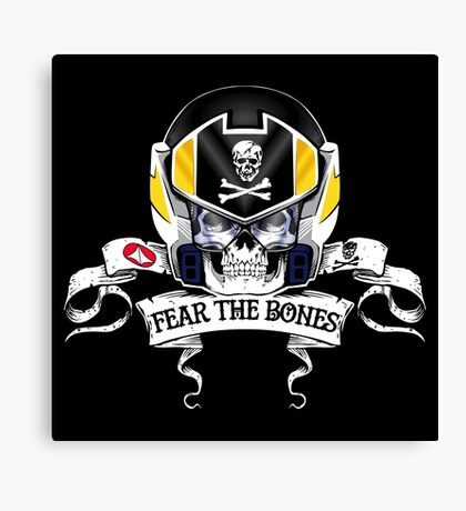 Fear the Bones Canvas Print
