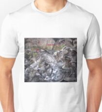 The Dark Side of the Moon, Pink Floyd Abstract T-Shirt