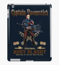 Captain Boomstick (Puppet Version) iPad Case/Skin
